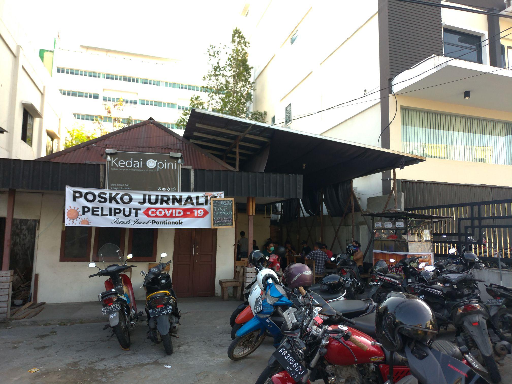 rumah jurnalis pontianak